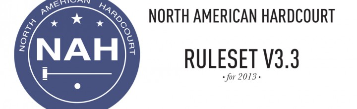 Ruleset Version 3.3 for the 2013 Season