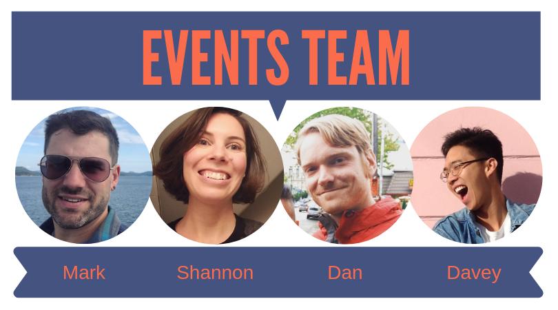 NAH event team