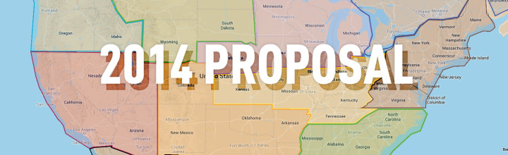 Proposed Regional & Structure Changes for 2014
