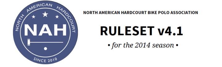NAH Ruleset v4.0 Approved by NAH Board and Club Reps