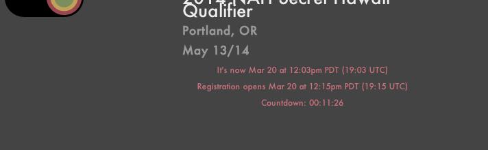 2014 Qualifier Registration via Podium – Instructional