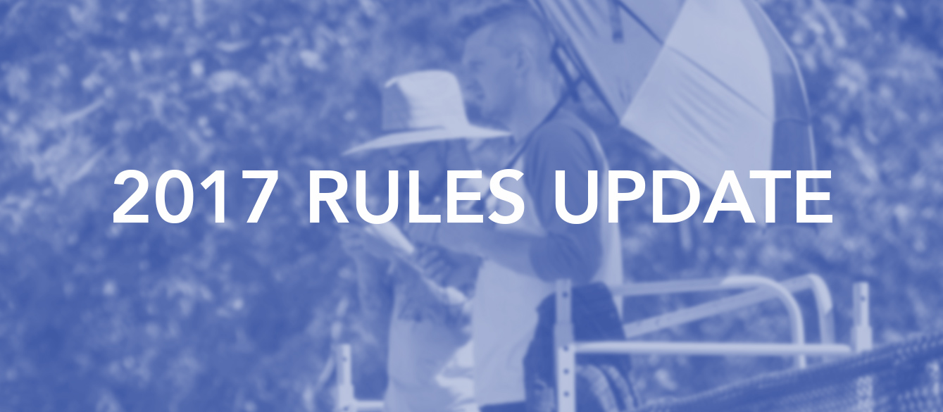 Ruleset Update for the 2017 Season